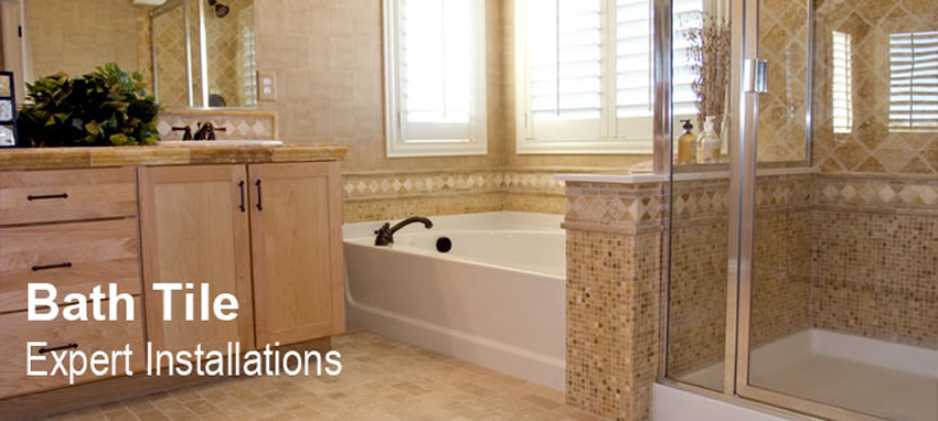 Bathroom Tile Design and Installation | Bath Remodeling by Cabinet PRO