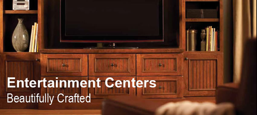 media cabinets and entertainment centers