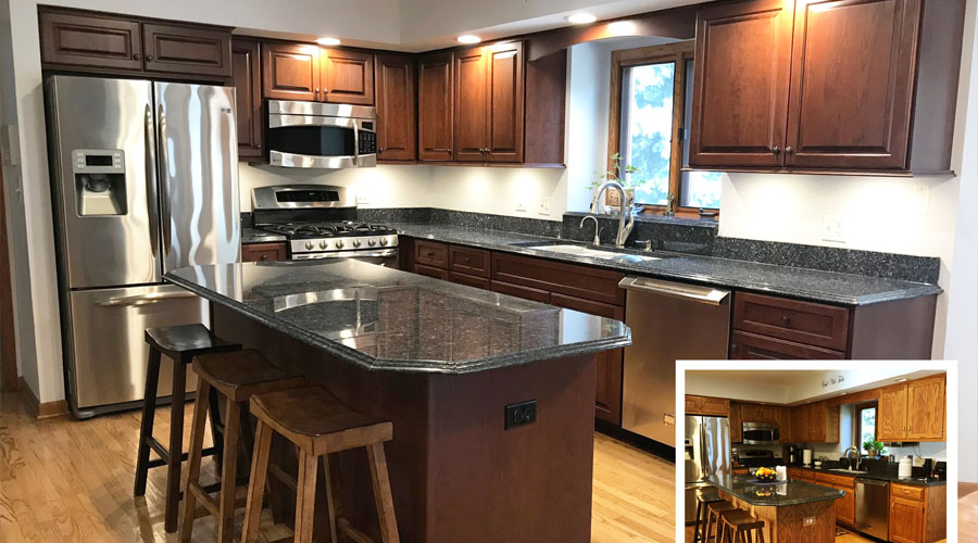 Kitchen And Bath Remodeling Custom Cabinets And Cabinet Refacing - Bathroom remodeling northbrook