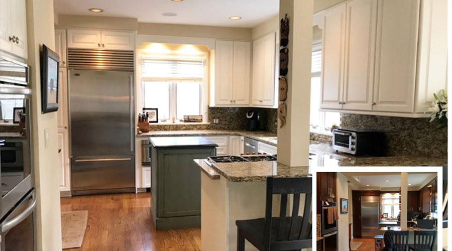 Kitchen Remodel Before and After in Northbrook, IL