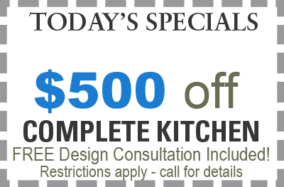 save $500 on kitchen remodeling in Chicago with Cabinet Pro