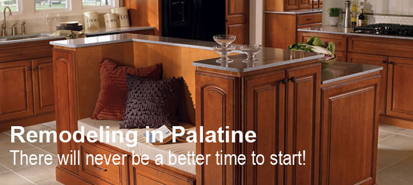 Kitchen And Bath Remodeling In Palatine Il New Cabinets And