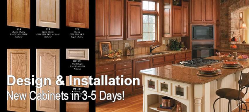 Cabinet Refacing Design And Installation