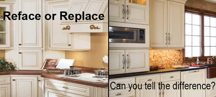 Etonnant Reface Or Replace Kitchen Cabinets