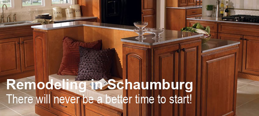 Kitchen and Bath Remodeling in Schaumburg IL New Cabinets and