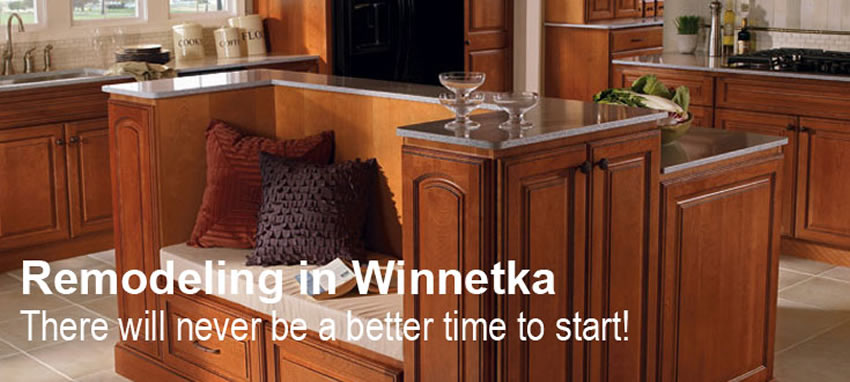 Remodeling Contractors in Winnetka IL - Cabinet Pro