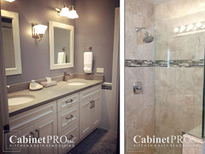 bath Remodel by Cabinet Pro