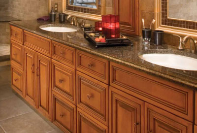 Refaced Bath Cabinets