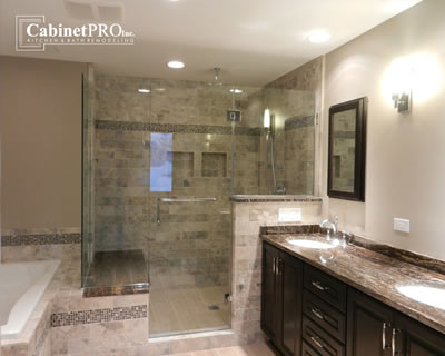 Bath Remodeling in Skokie by Cabinet Pros